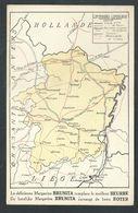 +++ CPA - Carte Géographique - LIMBOURG - Publicité Margarine BRUNITA   // - Belgio