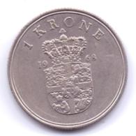 DANMARK 1968: 1 Krone, KM 851 - Denmark