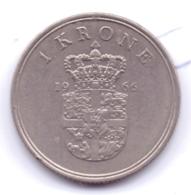 DANMARK 1966: 1 Krone, KM 851 - Denmark