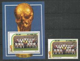 ST.VINCENT - MNH - Sport - Soccer - World Cup - 1986 - 1986 – Mexico