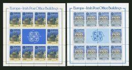 Irlande Ireland Feuillets Sheetlets Europa 1990 ** Architecture Postes - Europa-CEPT