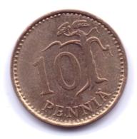 FINLAND 1969: 10 Penniä, KM 46 - Finlandia