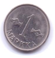 FINLAND 1957: 1 Markka, KM 36a - Finnland