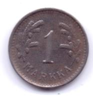 FINLAND 1951: 1 Markka, KM 30b - Finnland