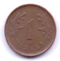 FINLAND 1951: 1 Markka, KM 30a - Finlandia