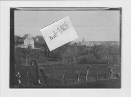 ROCHEFORT EN TERRE 56  VUE Photo Originale - Lugares