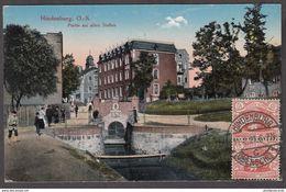 CPA - Pologne - Poland, Zabrze OS Hindenburg, Partie Am Alten Stollen, Silésie 1921 - Polonia