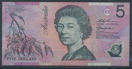 °°° AUSTRALIA - 5 DOLLARS °°° - Emissions Gouvernementales Décimales 1966-...