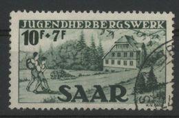 SARRE N° 251 COTE 30 € OBLITERE AU PROFIT DES AUBERGES DE JEUNESSE - 1947-56 Protectorate