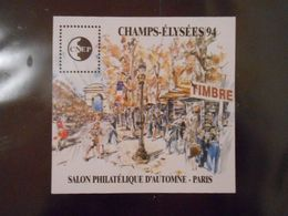 FRANCE BLOC-FEUILLET CNEP N°19 CHAMPS-ELYSEES** - CNEP