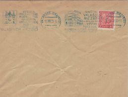 Valasske Mezirici 1935 Prag Kultur Masaryk Museum - Storia Postale