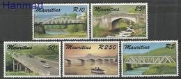 Mauritius 1987 Mi 638-642 MNH ( ZS4 MRT638-642 ) - Voitures