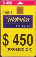 Telefonkarte Chile - Werbung   - 12/99 - Cile