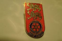 Pin's - ROTARY CLUB INTERNATIONAL NORMANDIE 1640 E DISTRICT - Associazioni