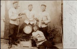 ! Foto,  Photo, Militaria, MILITAIRE, Soldatenfoto Elsenborn, 1902 - Personen