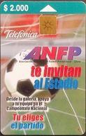 Telefonkarte Chile - Fußball   - 10/99 - Cile