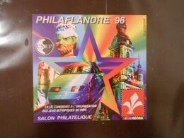 FRANCE BLOC-FEUILLET CNEP N°22 - PHILAFLANDRE 96** - CNEP