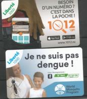Dernieres Recharge Liberté 3000cfp Et 1000cfp - Nouvelle-Calédonie