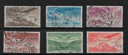 IRELAND 1948 - 1954 SET OF 6 SG 140/143a FINE USED - 1937-1949 Éire
