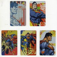 BRESIL LOT 5 TELECARTES TELEFONICA SUPERMAN - Film