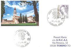 ITALIA - 2000 AQUILEIA (UD) Giubileo 2000 Annullo Utilizzato Nel Chiosco Vicino Alla Basilica - 3887 - Popes