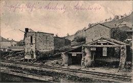 ! Ansichtskarte Montmedy,  Gare, Bahnhof, Eisenbahn Bau Kompagnie, 1. Weltkrieg, 1915 - Stations Without Trains