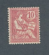 FRANCE - N° 124 NEUF* AVEC CHARNIERE - 1902 - 1900-02 Mouchon
