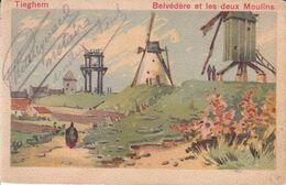 Tieghem - Belvédère Et Les Deux Moulins - Anzegem