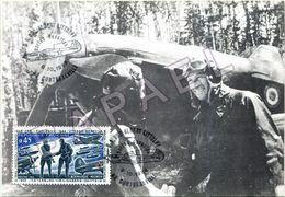 Carte Maximum - Normandie-Niemen - Base Aérienne Albert Littolff (08-10-1988) (Recto-Verso) - 1980-89