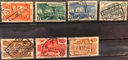 BELGIUM  - (0)    -  1950-1952  - # Q328/335  7 VALUES - 1952-....