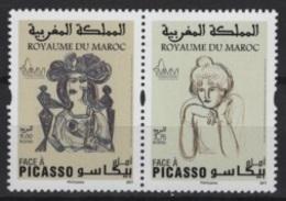 Maroc - Morocco (2017) - Set -  /  Picasso - Paintings - Peintres - Pinturas - Picasso