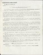 OAS Organisation Armée Secrète Tract Guerre D'Algérie Appel à La Population Anti GPRA Et FLN Fraternisation - Documentos Históricos