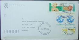 Brasil - Cover To Holland 1992 Columbus Map UPAEP Olympic Games - Christophe Colomb