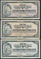 °°° CANADIAN TIRE 25c-50c-1 $ °°° - Canada