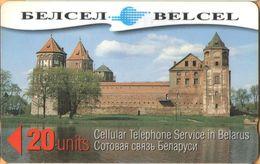 Belarus - GPT, 238BCUA, Mirsky Castle, Palaces, 20U, 4/98, Used - Belarus