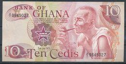 °°° GHANA - 10 CEDIS 1978 °°° - Ghana