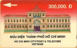 Vietnam - Ho Chi Minh City Post & Telelcoms, 1VTNB, 10.000ex, 1991, Used - Vietnam