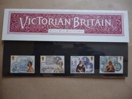 GREAT BRITAIN SG 1367-70 QUEEN VICTORIA ACCESSION 150 ANNIVERSARY PRESENTATION PACK - Hojas & Múltiples