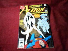 SUPERMAN & ??????    ACTION COMICS   N° 595   DEC  87 - DC