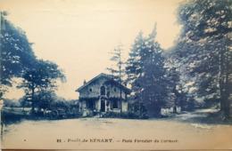 CPA - 28 - Forêt De Sénart - Poste Forestière Du Cormier - Francia