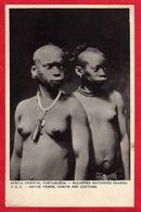 Niassa Mulheres Macondes Jeune Femme Seins Nus Black Nude  Tatoo Moçambique Mozambique - Mozambique