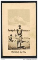 MOÇAMBIQUE BLACK NUDE WOMAN SEINS NUS PUBLICIDADE COLONIAL AFRICA ILUSTRADA Margem Rio Save - Mozambique