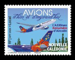 New Caledonia 2020 Mih. 1799 Aviation. Airbus A330neo Of Aircalin MNH ** - Nuovi