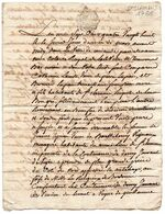 Cachet De GENERALITE D' AUCH, 2 SOLS 4 D.,sur Acte De Vente Manuscrit, SAINT CLAMENS, Fait à Mirande En 1788. - Matasellos Generales