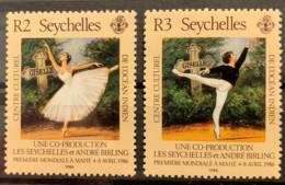 SEYCHELLES  - MNH**   -  1986  - # 589/590 - Seychelles (1976-...)