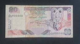 RS - Sri Lanka 20 Rupees Banknote 2005 #L/329 022552 - Sri Lanka