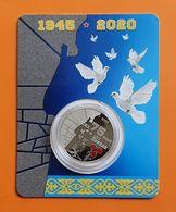 KAZAKHSTAN: 100 Tenge 75 Years Of Victory In Great Patriotic War Proof-Like 2020 Blister - Kazakhstan