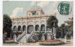 ENVIRONS D' ARCACHON EN 1907 - N° 97 - LA VILLA ALGERIENNE - BEAU CACHET - CPA COULEUR VOYAGEE - Arcachon