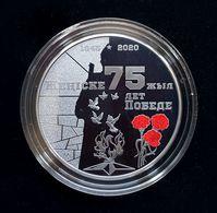 KAZAKHSTAN: Silver 500 Tenge 75 Years Of Victory In Great Patriotic War BLACK PROOF 2020 - Kazakhstan