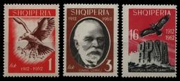 Albanien 1962 - Mi-Nr. 709-711 ** - MNH - Vögel / Birds - Albanien